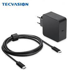 20V 3.25A 65W 60W <b>USB</b> Type C Detachable <b>Charger Cable EU</b> ...