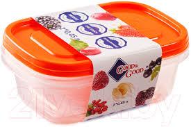<b>Good&Good</b> SREC 2-<b>1</b> Набор <b>контейнеров</b> купить в Минске
