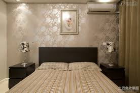 simple bedroom decorating wallpaper