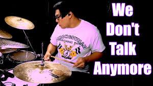 we don t talk anymore charlie puth selena gomez drum cover we don t talk anymore charlie puth selena gomez drum cover david cola