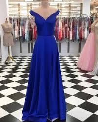 <b>Custom Made</b> A Line 2 Pieces <b>Royal Blue</b> Prom Dresses, 2 Pieces ...