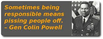 Colin Powell Quotes On Ethics. QuotesGram via Relatably.com
