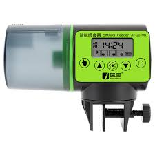 1PCS <b>LCD Electronic Automatic Fish</b> Feeder Dispenser Timer ...