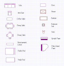 Draw Floor PlansFurniture Symbols