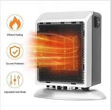 <b>Mini</b> Portable Ceramic Space <b>Heater</b> 900W <b>Electric Fan Heater</b> For ...