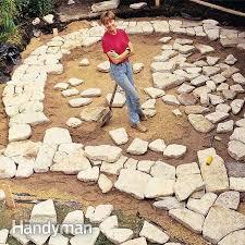 stone patio installation: build a stone patio or brick patio