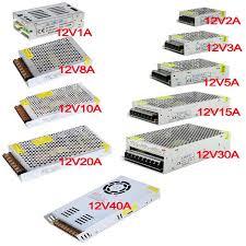 Vusum 12V power supply AC85 110V 220V to DC5V <b>12V 24V</b> 2A ...