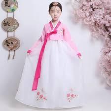 Korean hanbok flowers perform <b>stage dance costumes</b> for <b>girl</b> ...