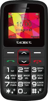 Мобильный <b>телефон teXet TM</b>-<b>B217</b> Black/Red - купить ...