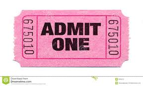 pink ticket clipart clipartfest movie ticket