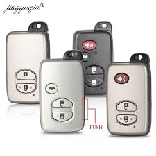 <b>jingyuqin Smart Remote</b> Key Case 2/3/4 Buttons Fob Shell For ...