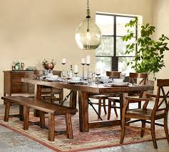 pottery barn style dining table: scroll to previous item benchwright extending dining table c scroll to previous item