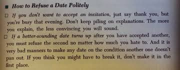 Tried and True Dating Etiquette  circa               The Airship The Airship McCall     s Book of Everyday Etiquette by Margaret Bevans