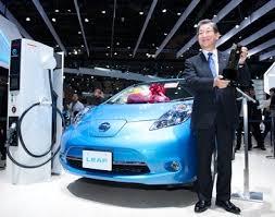 Nissan LEAF Wins Car of the Year Japan 2011-2012