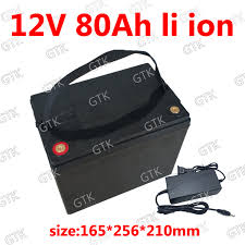 Aliexpress.com : Buy <b>Waterproof 12v</b> 80ah lithium ion battery <b>12v</b> li ...