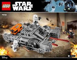 <b>LEGO</b> Imperial Assault Hovertank Instructions <b>75152</b>, <b>Star Wars</b>