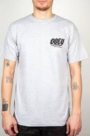 <b>Футболка OBEY The Shocker</b> (Heather Grey, L) | dshikultaevo.ru