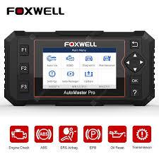 <b>FOXWELL NT614 Elite</b> OBD2 Car Diagnostic Tool ENG ABS SRS ...