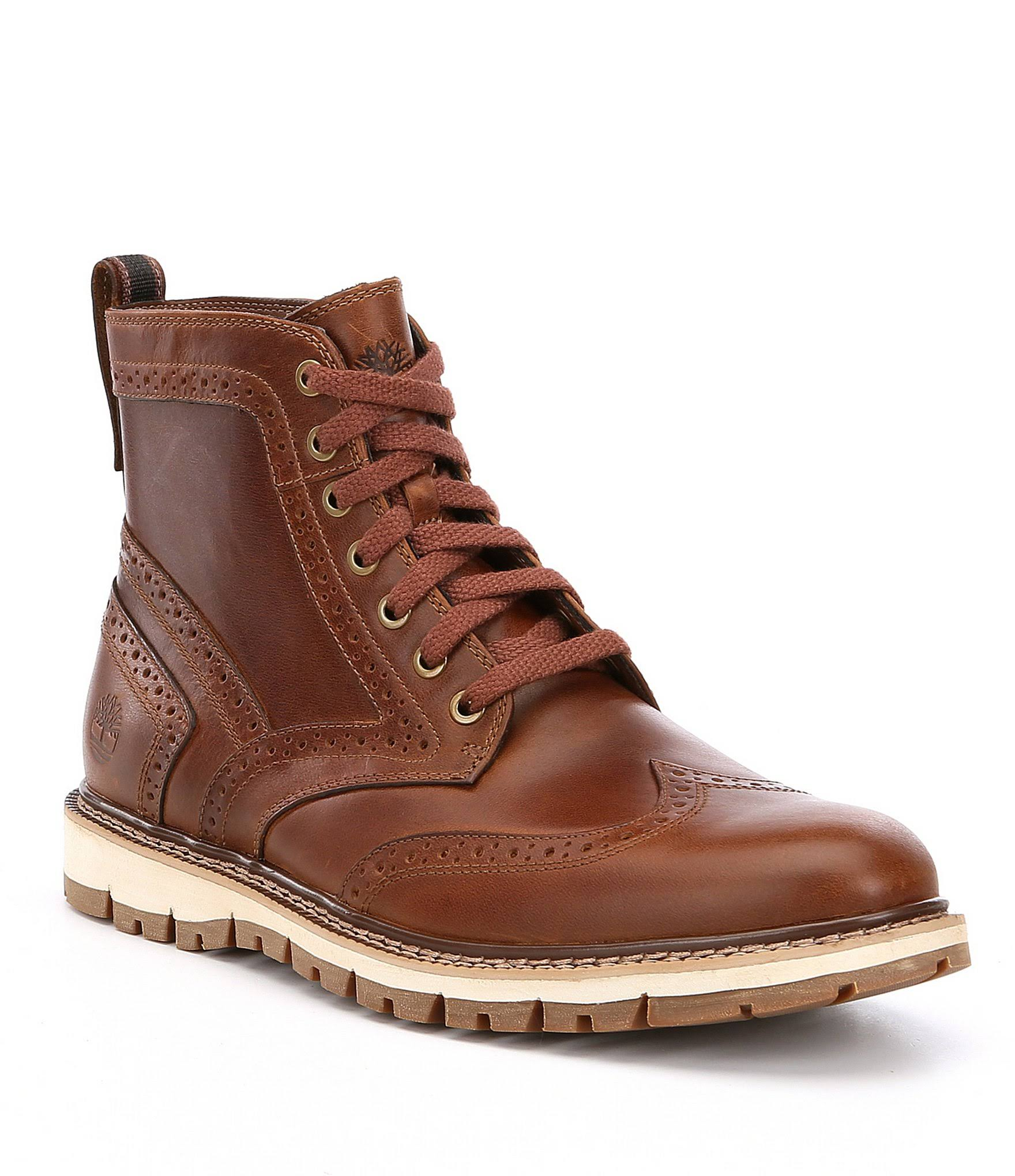 Britton Boot 5 Timberland Brogue MediumMarrone Hill Uomo 8 ZuTwPOXlki