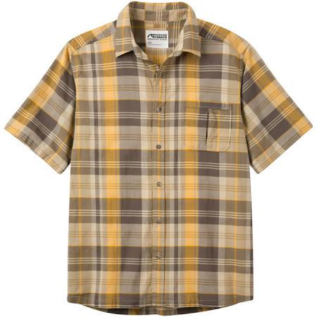 Herren Khakis Madras Tomahawk Kurzarm Mountain strickhemd OwqgH51