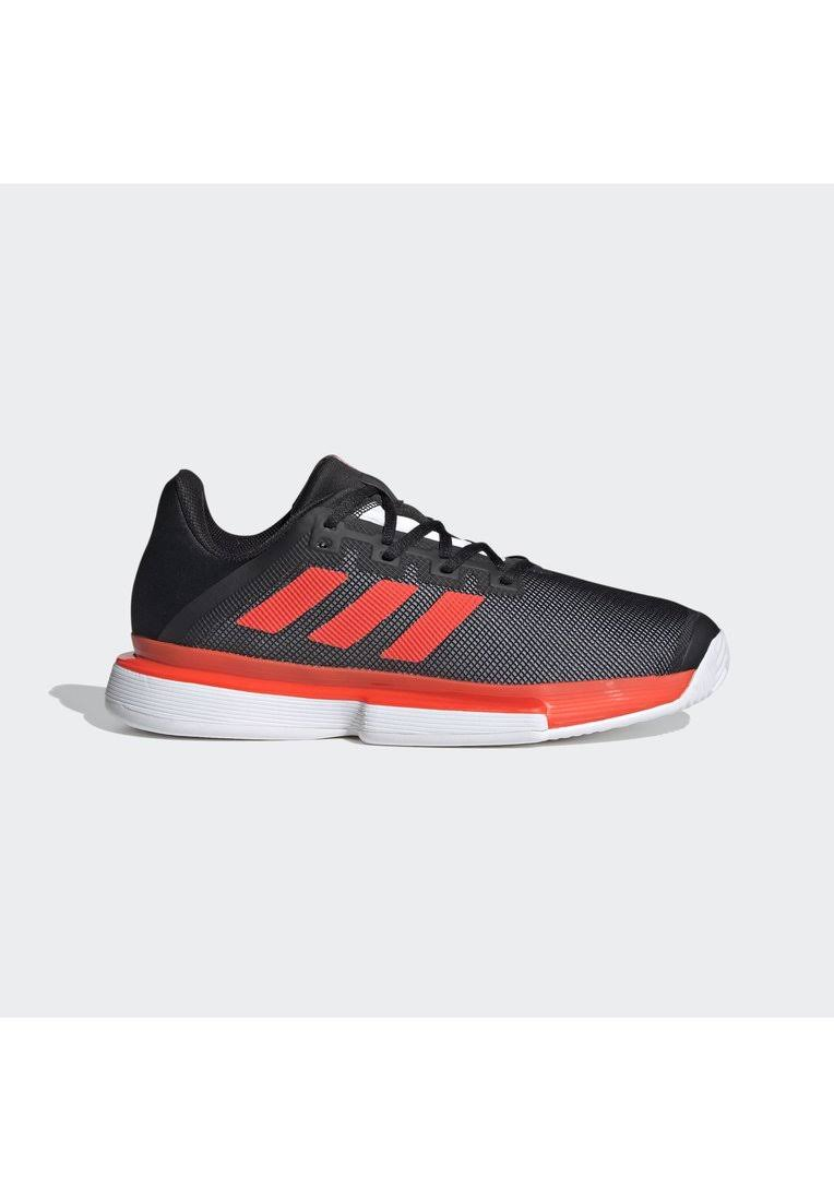 Adidas SoleMatch Bounce Hard Court Shoes Tennis - Black
