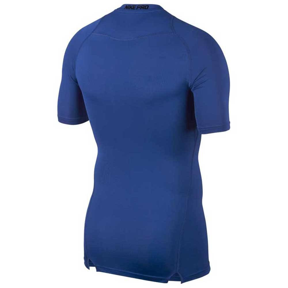 Kurzarmshirt Blau Regular Jd Compression Pro Sports Herren Nike EOBSq4n