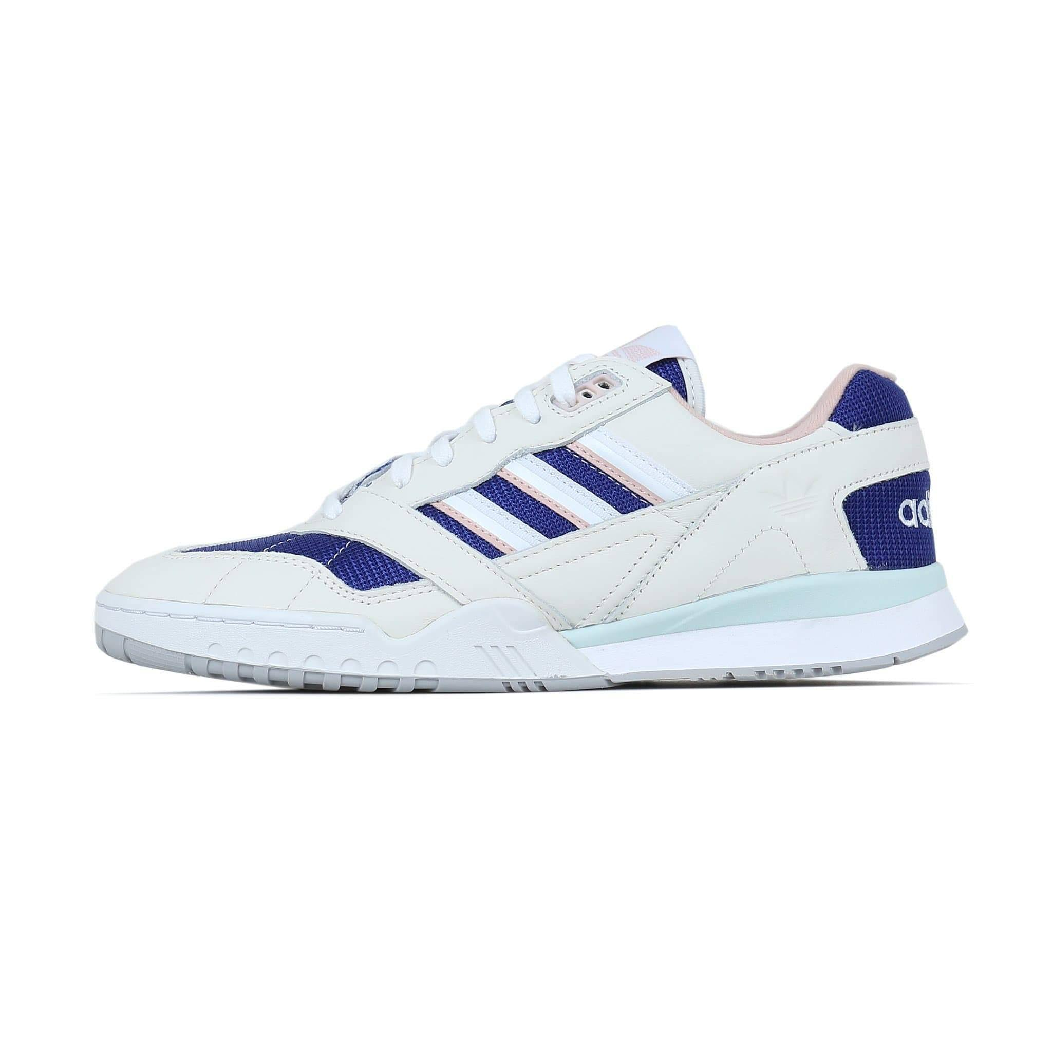 Adidas Originals A R Trainer Shoes - Off White Real Purple