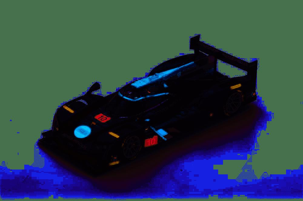 Cadillac DPi-VR Konica Minolta Wayne Taylor Racing No10 in 143 Scale by Spark