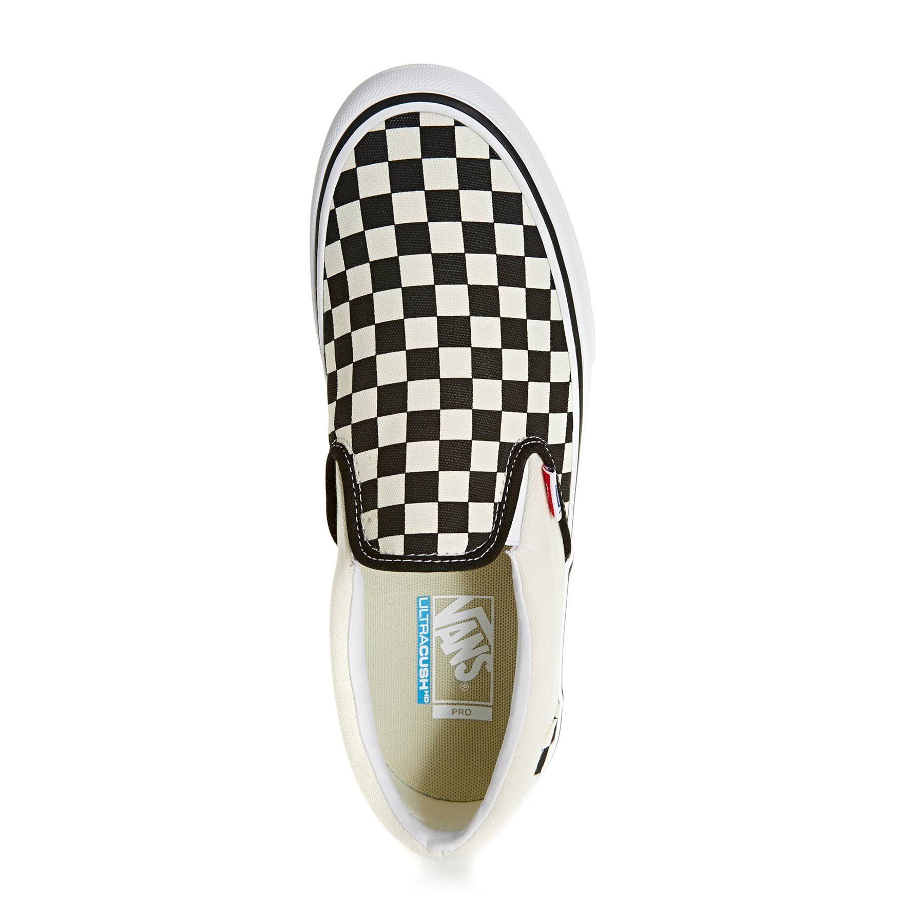 Vn0a347vapk bk Apk Slip Checkered Chk On wt Pro Vans FqT6v