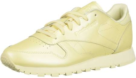 Classic Womens 9 Reebok Size Yellow Shoes Leather Washed Uxqq1dzZSw