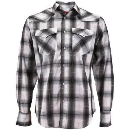 De 453 blanco ps405l Camisa Hombre 453 Clothing Rodeo A Ps405l Cowboy Presión Western Premium Larga Cuadros Manga M Pearl 0xvZ5wYq6