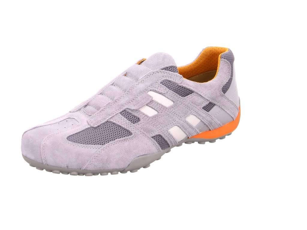 in morbida Geox Man grigie Lead topsSneakers pellefibre Low tessili CorBQxeWd