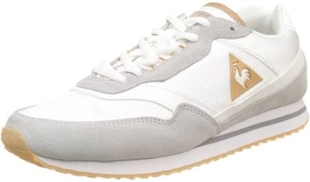 Damen Louise Eu White White Sportif optical Suede Coq Grau nylon 36 Trainer galet Le Low TEZw4qZ