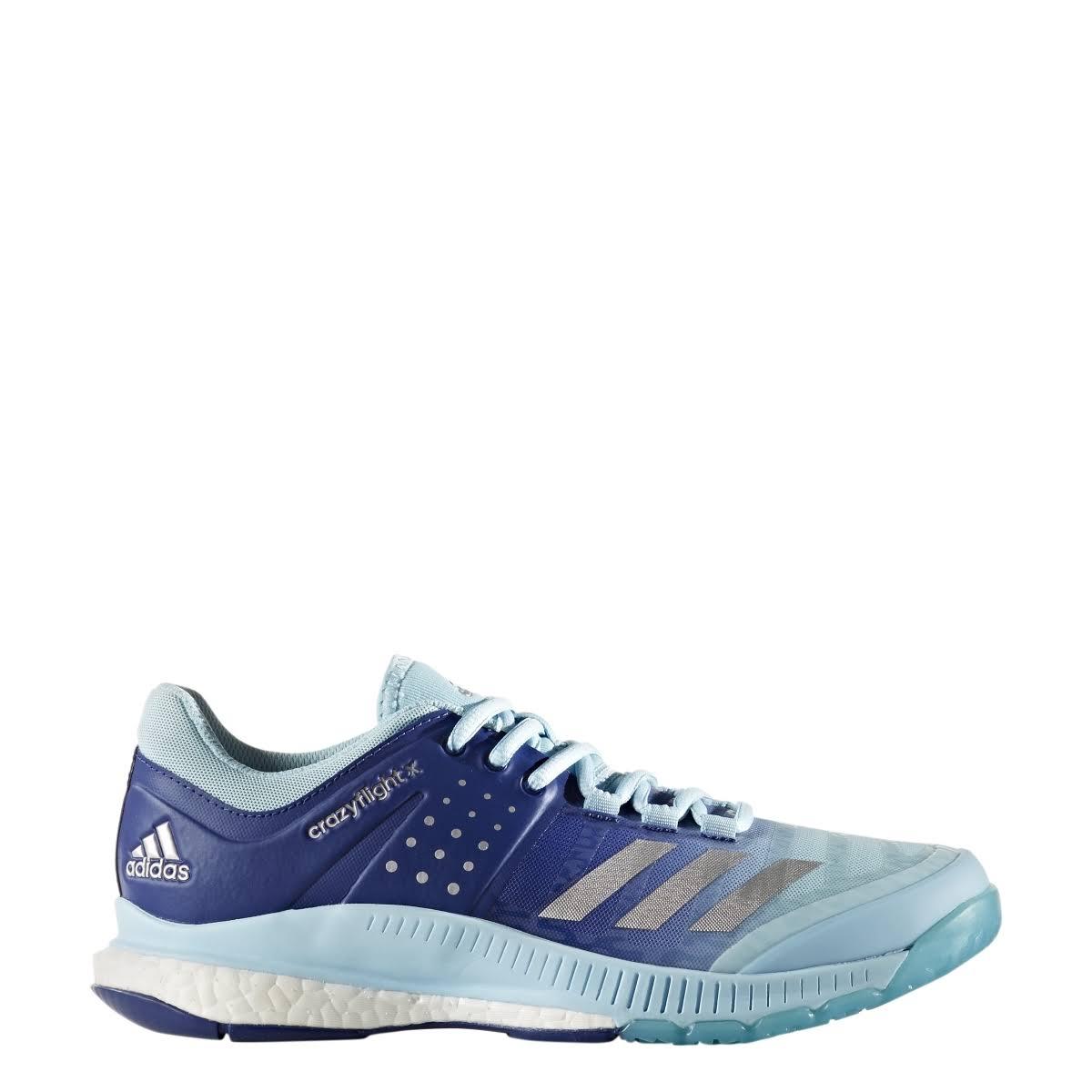 Helado Para Mujer 12 Crazyflight Plateado Azul X Bajo Zapatillas Adidas Voleibol De PCwqTxp6