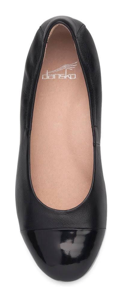 Lisanne Schuhe 38 Damen 5700020218 Leather Dansko Schwarz Lillie Round qvdEBnwP