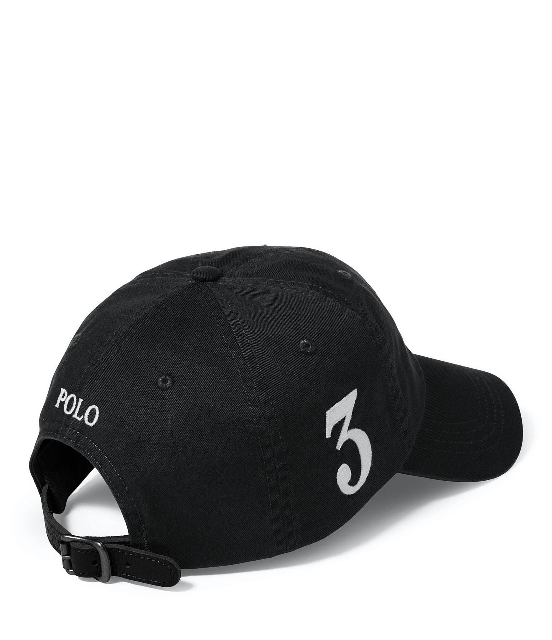 Berretto Polo cotone nero4006nero in Laurennero da baseball Ralph dBoexCr
