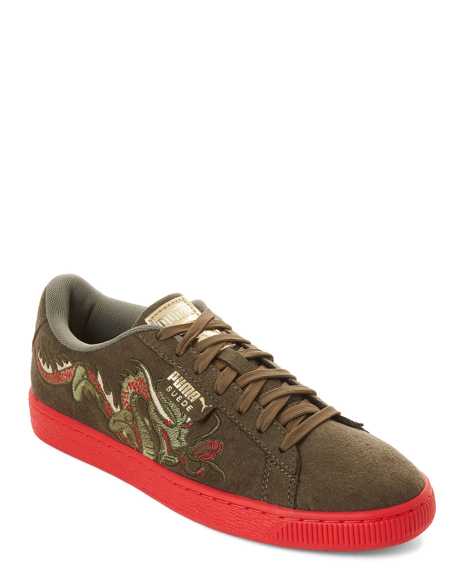 Zapatillas Verde 11med Classic Olive Red Bajas Dragon amp; Burnt Puma Ax1znwYB