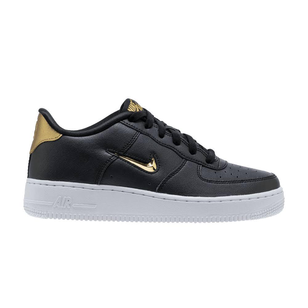 LowScarpe Ragazzi Air Pallacanestro Grado Da Per Nike Di Scuola 4 1 Force NeroOro 8nvN0mw