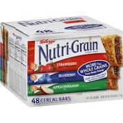 Kellogg's Nutri-Grain Cereal Bar, 1.3-Ounces, 48-Count