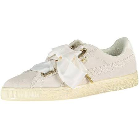 Wildleder Tennis Puma damen Satin white Heart Beige Wn 7S5qf5A