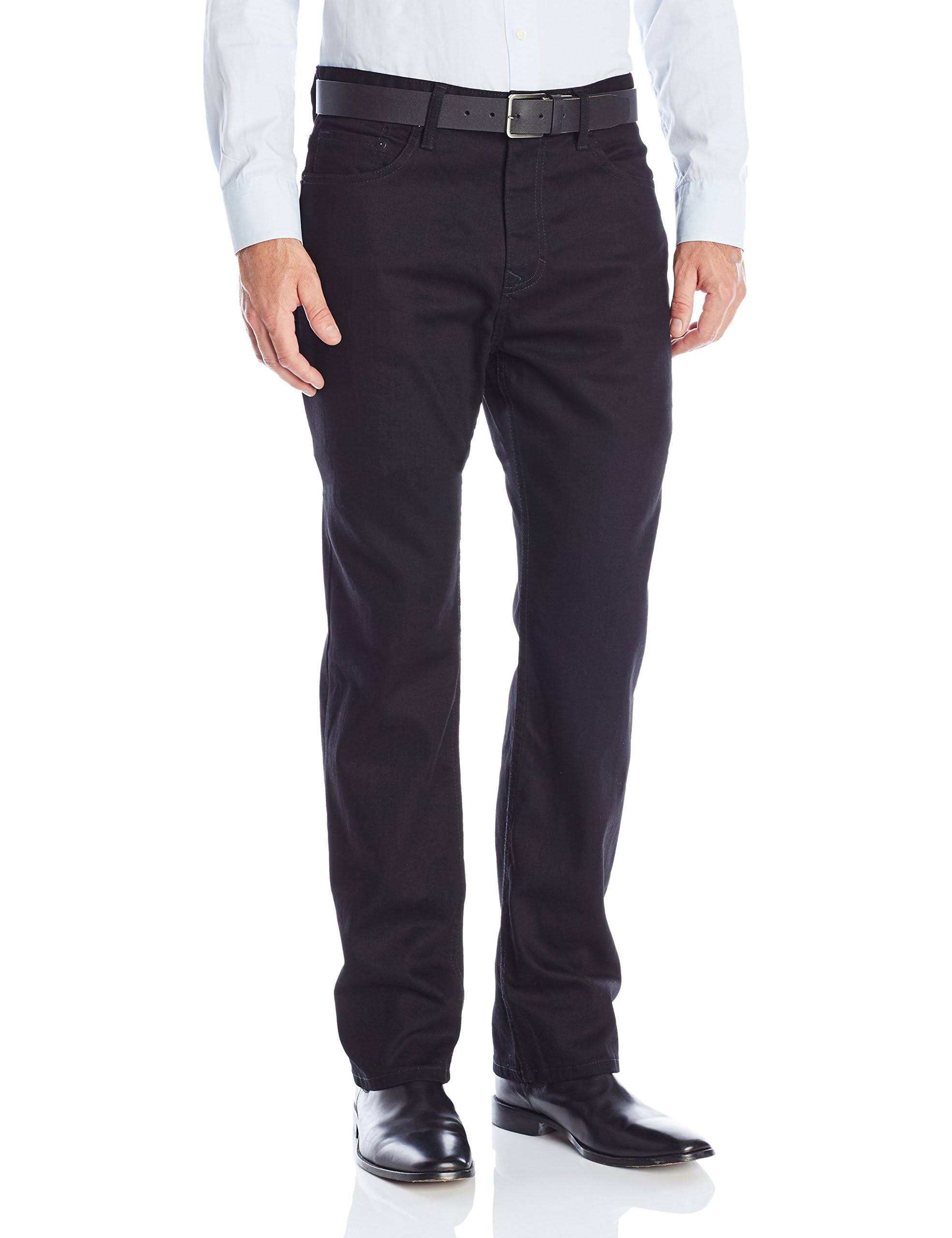 Hombres Para Calvin Estiramiento Jeans Ajustado Klein 32x32 Negro PwTXqCOx