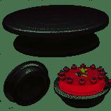 Plateau tournant de gâteau tournant anti-dérapant décoration de gâteau rond plaque de cuisson cuisine outil de cuisson bricolage