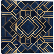 Art Deco III - Elisabeth Fredriksson Canvas Wall Art Print