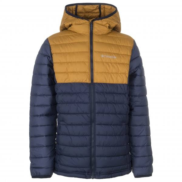 Navy Collegiate Powder Gold Boys Blue Black Con Canyon Lite Capucha Columbia Chaqueta qwpYH0n