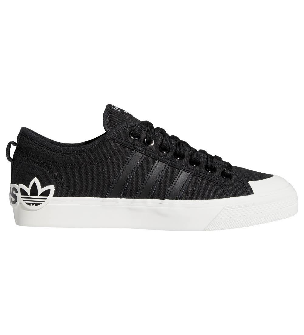 Adidas Originals Nizza Shoes - Core Black - Mens - Trainers