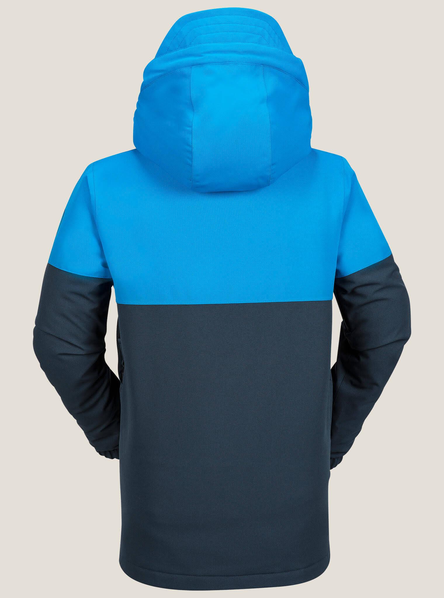 Niños Chaqueta Con Bloqueada Volcom Azul Para M Marino Aislante Vintage Capucha rr1q5twz