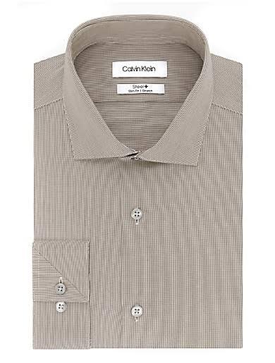 Shirt Klein Dress Hazelnut Performance Steel 32 15 33 Stretch 5 Herren Iron Calvin Slim Fit pzxqTwpC