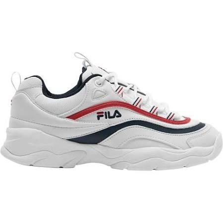 Sneaker White red Ray Running Weiß Low Fila navy Herren In 43 qREUC17