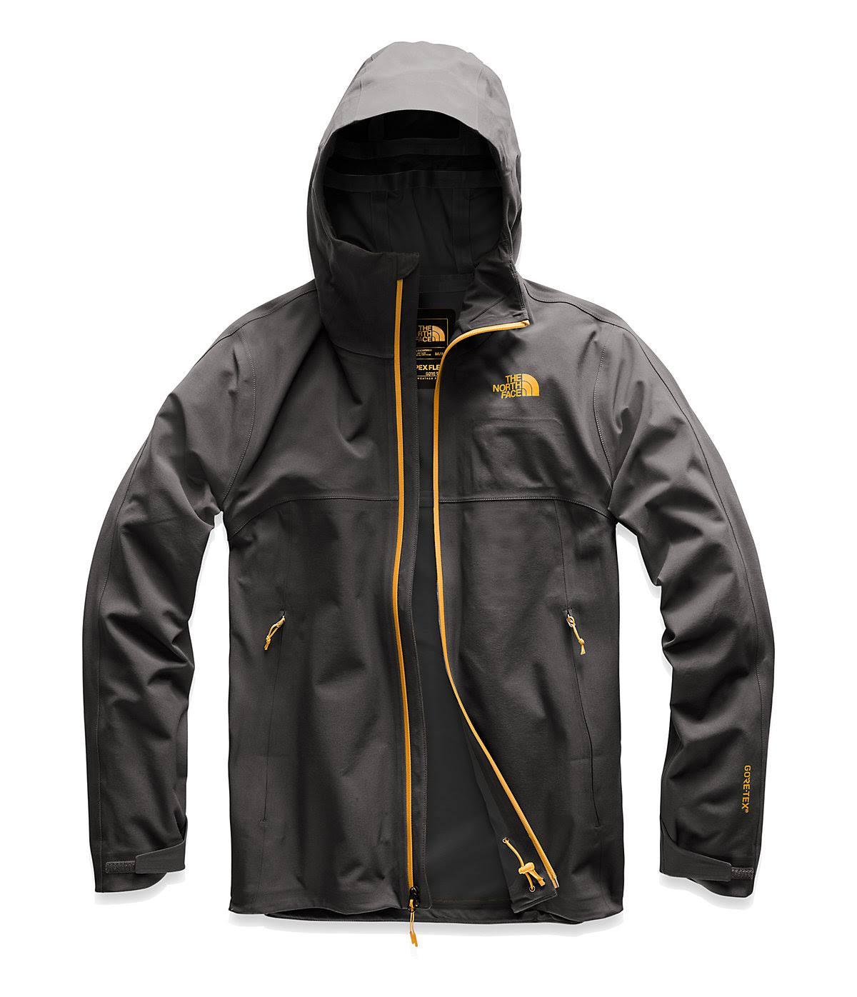 Herren North Die Flex Gtx Jacke Orange Face 0 Apex Zinnia 3 Grey Asphalt 188RFx