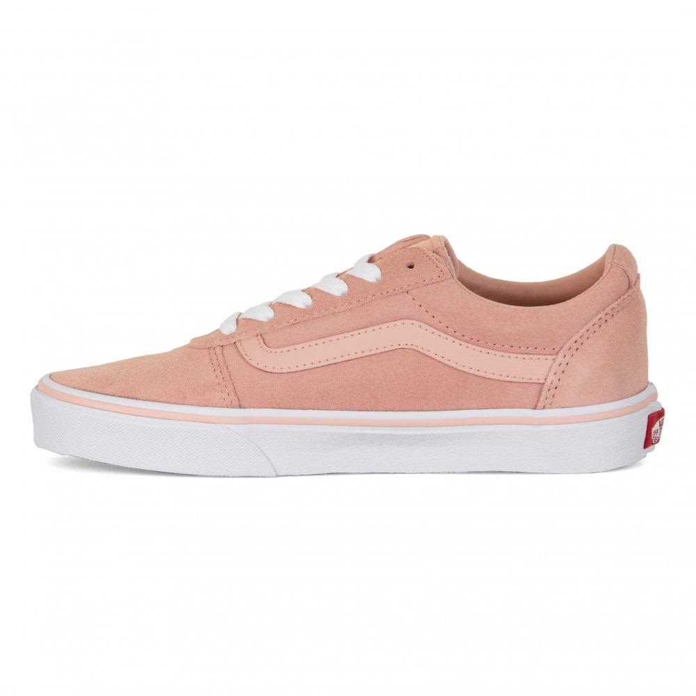 Rose Suede top Dames Ward Vans Low Sneakers F1uTJlKc3